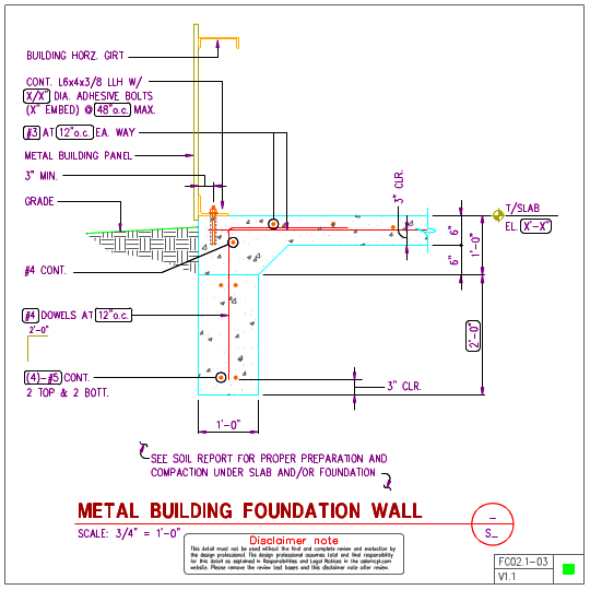Prefabricated Metal Building Cad Details